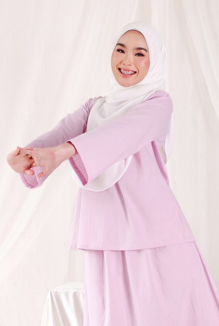 Nomi Blouse in Lilac